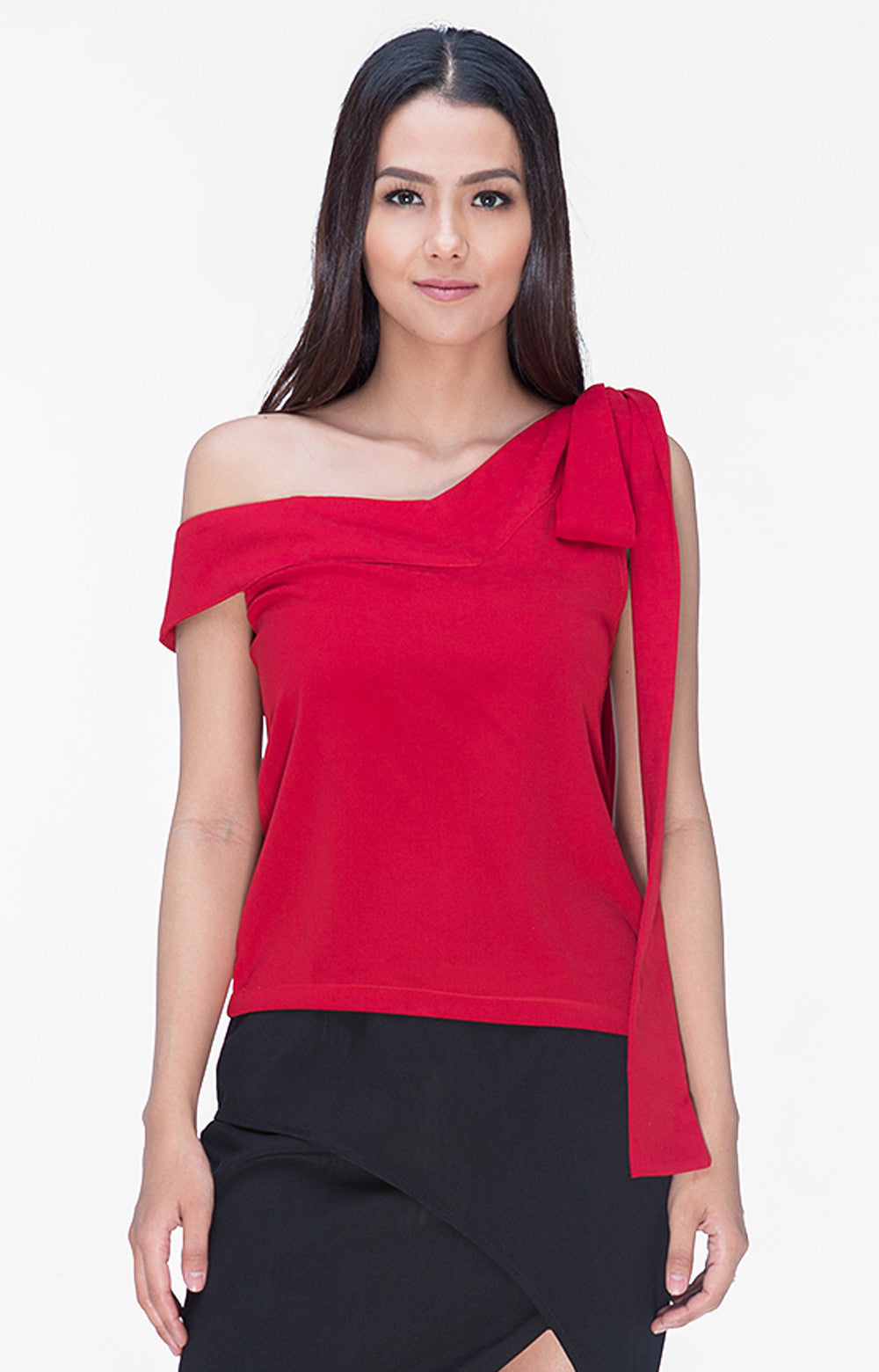Audrina Top- Red