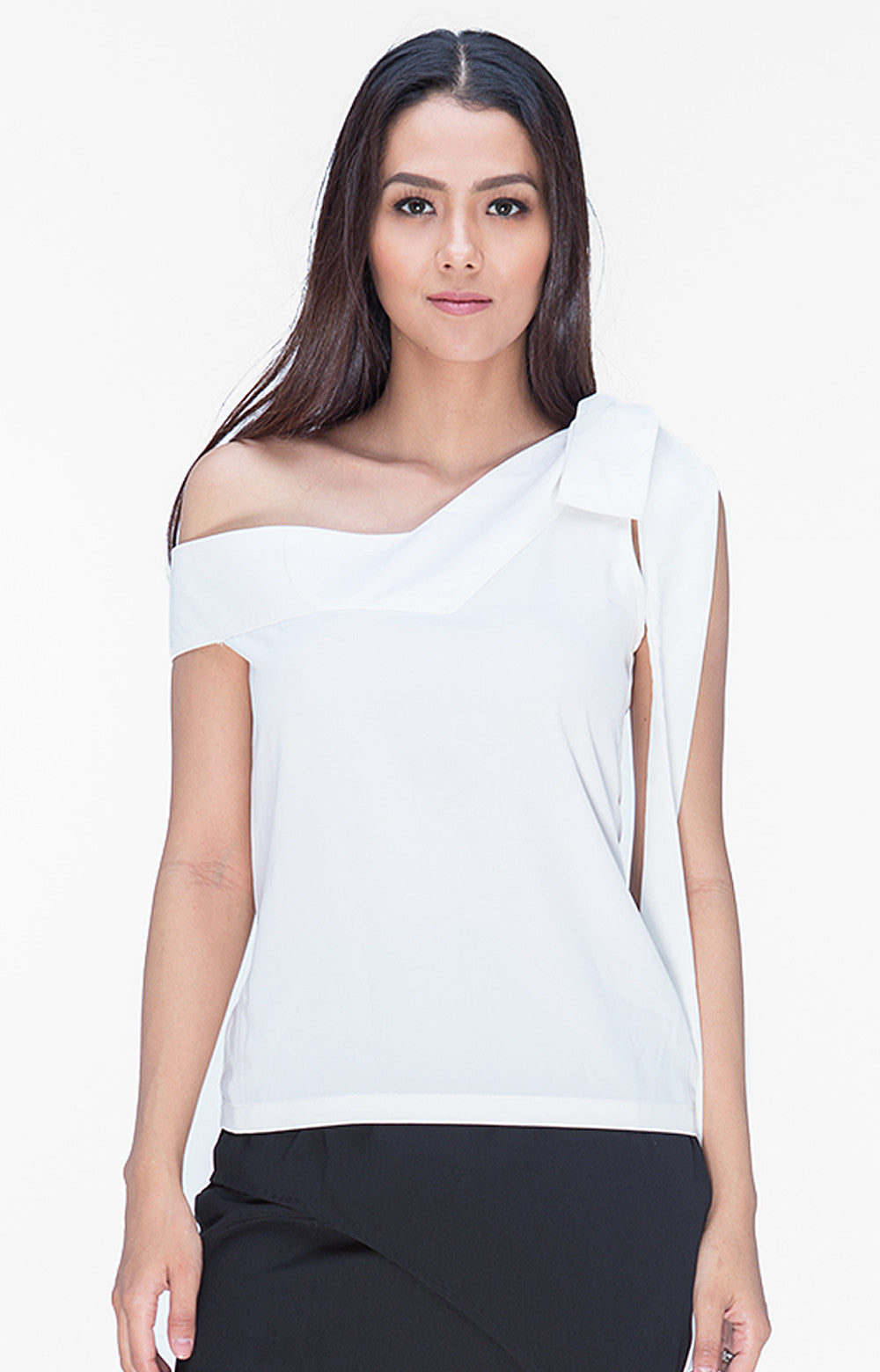 Audrina Top- White