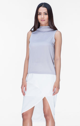 Beatrice Top- Gray