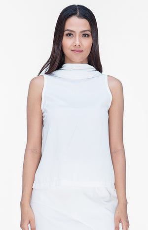 Beatrice Top- White