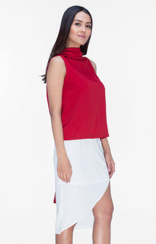 Beatrice Top- Red