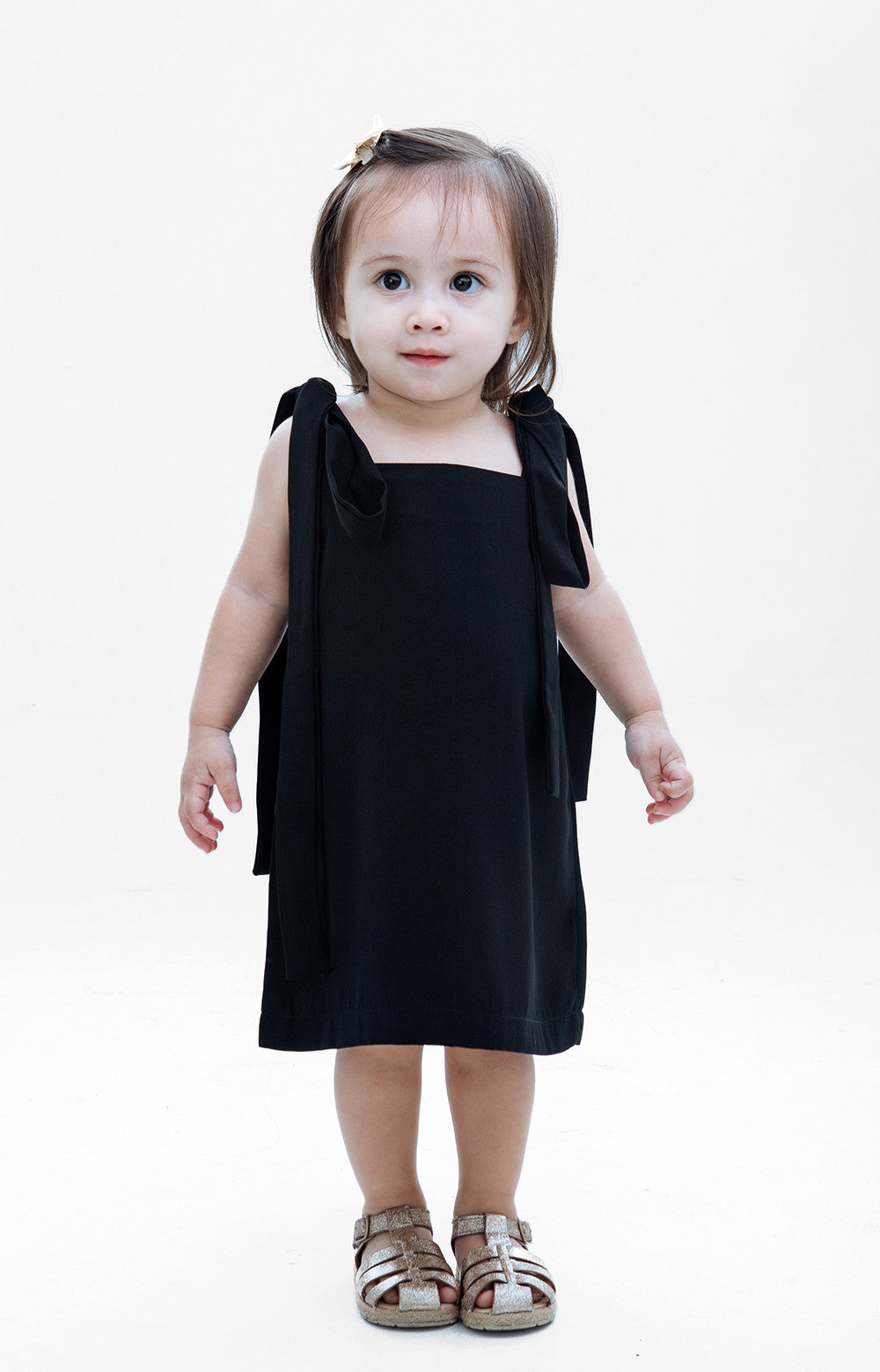 Kids Isabella Dress- Black
