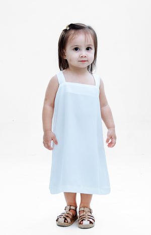 Kids Juliet Dress- White