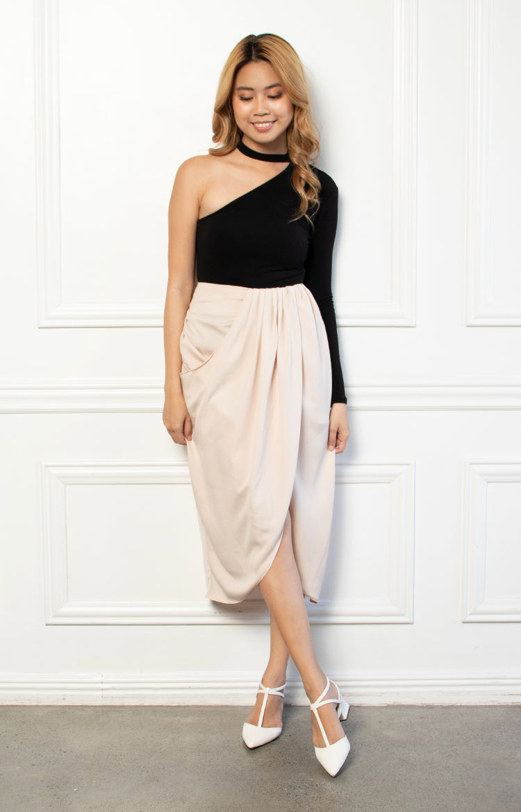 Samantha Skirt in Beige