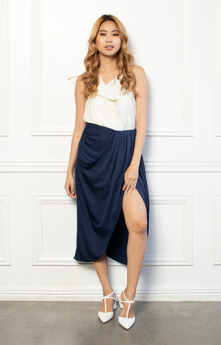 Samantha Skirt in Navy