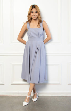 Charlotte Dress in Blue
