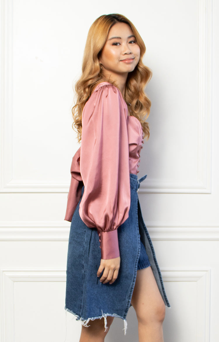 Carrie Top in Mauve