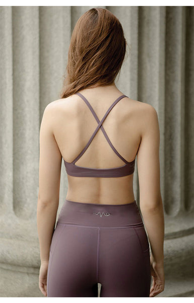 Break Free Performance Sports Bra in Arctic Dusk