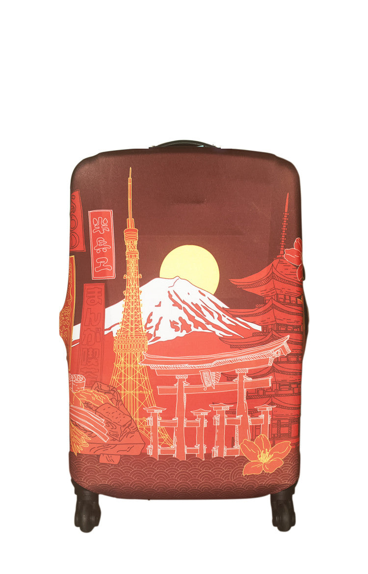 Comic Handwriting-Japan Luggage Cover