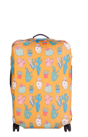 Desert Town Luggage Cover