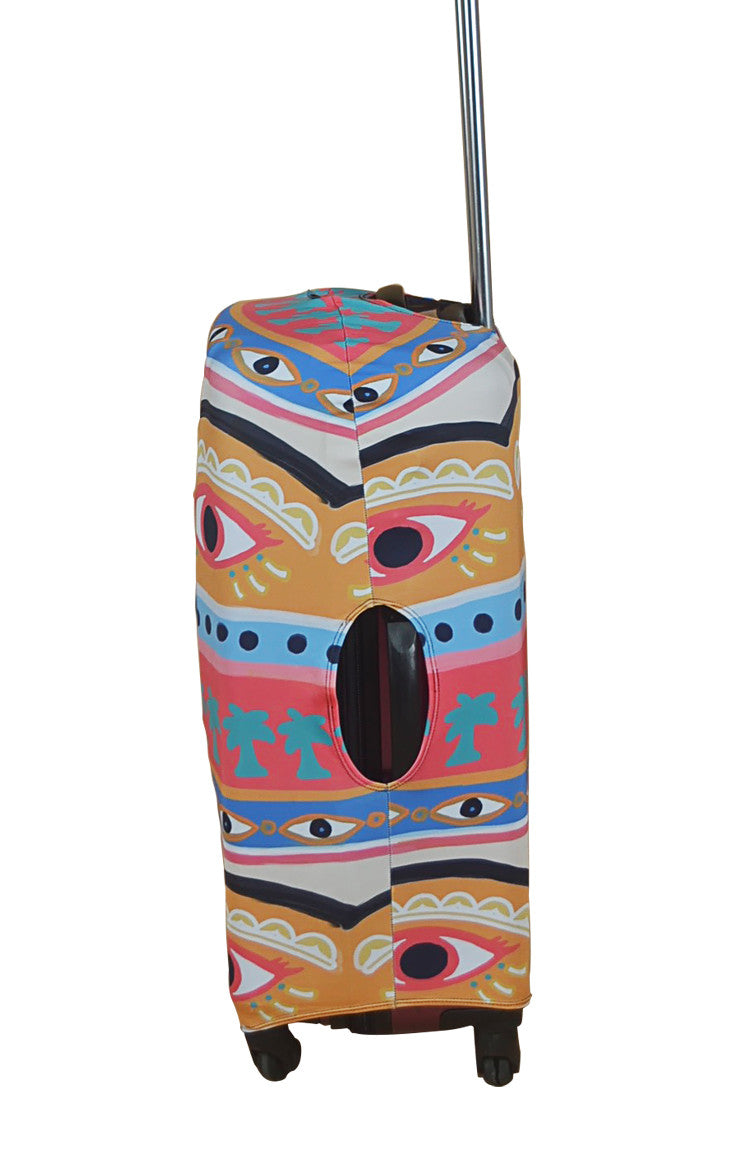 Evil Eye Luggage Cover