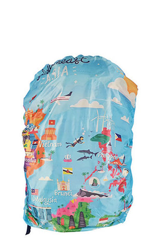 Explore Southeast Asia Backpack Cover