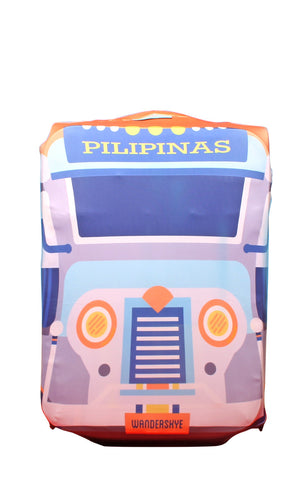 Jeepney Luggage Cover
