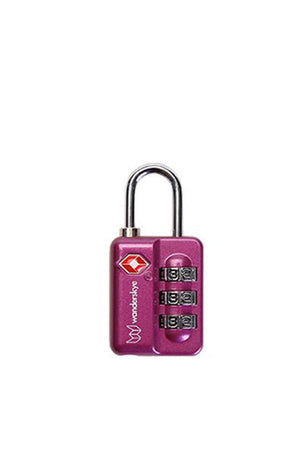 Purple TSA-S Travel Lock
