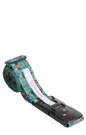Retro Luggage Strap with Digital Weighing Scale