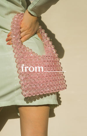 Cocktail Bag in Bubblegum