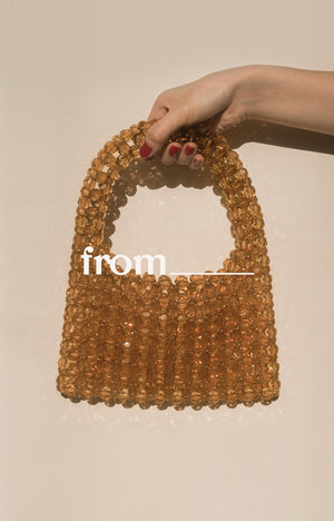 Cocktail Bag in Caramello