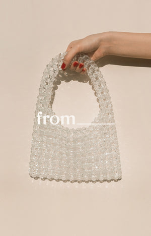 Cocktail Bag in Ice Drops