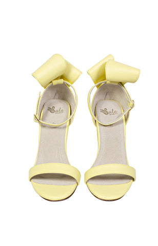 Kitsune Heels in Yellow