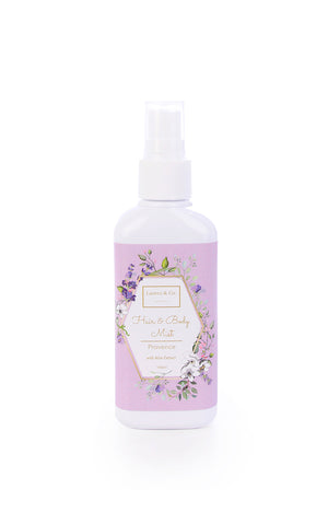 Hair & Body Mist with Aloe Extracts Provence