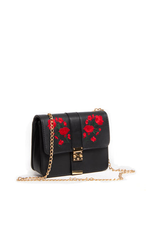 Lucile Chain Bag in Red
