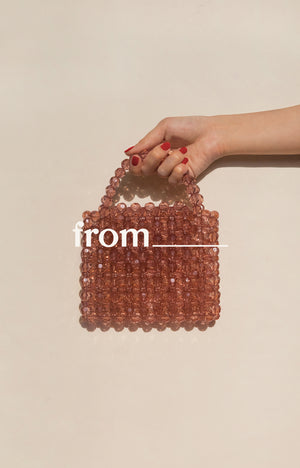 Mini Evening Bag in Praline
