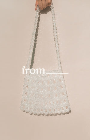 Mini Tote in Ice Drops