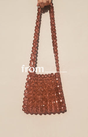 Mini Tote in Praline