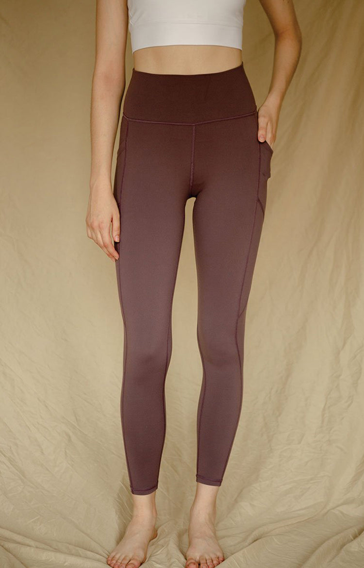 Radiate High-Rise Performance Tights in Arctic Dusk