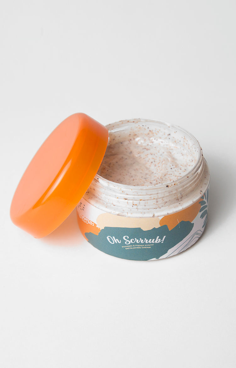 Oh Scrrub! Pineapple And Papaya Enzyme Apricot Seed Exfoliant, 100ml