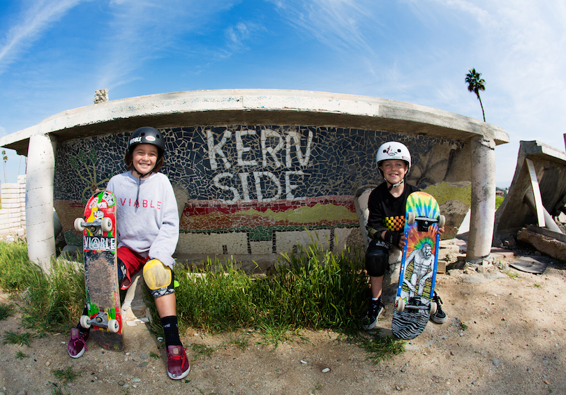 M2S Skateboards Shredding Up Kern Side