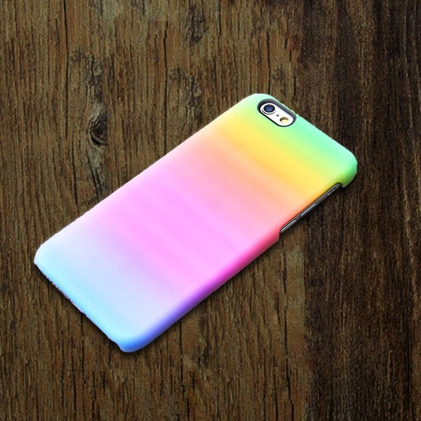 Rainbow Pastel Pink iPhone 6s 6 case iPhone 6 plus case Abstract iPhone 5S iPhone 5C iPhone 4S 4 Case Watercolor Samsung Galaxy S5 S4 S3 Case 001-1