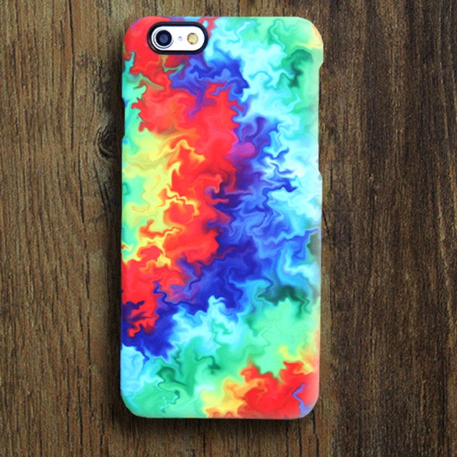 Abstract TieDye Tough iPhone XR Case | iPhone XS Max plus Case | iPhone 5 Case | Galaxy Case  05 - Retina Designs
