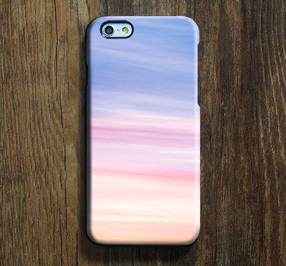 promo code 8f51f e67db Pink Sky iPhone XR+ case iPhone XS Max plus Blue iPhone 8 SE Case Clouds  Samsung Galaxy S8 S6 S3 Note 3 Case 012-1