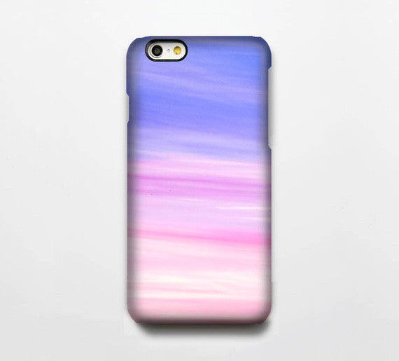 Pink Blue Sky iPhone 6s Case | iPhone 6 plus Case | iPhone 5 Case | Galaxy Case 3D 012