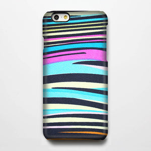 Zebra Color iPhone XR case iPhone XS Max plus Case iPhone 8c Galaxy S8 S6  Case Pink Blue Black 013-1 - Apple iPhone Xs/iPhone Xr case by Retina Designs