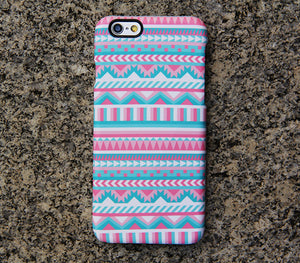 Pink Aztec iPhone XR Case Ethnic iPhone XS Max plus Case Vintage iPhone 8 SE  Case Samsung Galaxy S8 S6  Note 3 Case 023