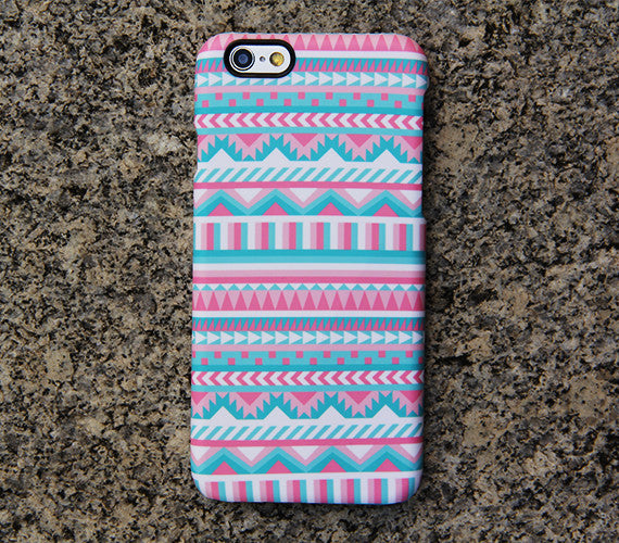 Pink Aztec iPhone 6s Case Ethnic iPhone 6 plus Case Vintage iPhone 5S 5 iPhone 5C 4S/4 Case Samsung Galaxy S6 edge S6 S5 S4 Note 3 Case 023