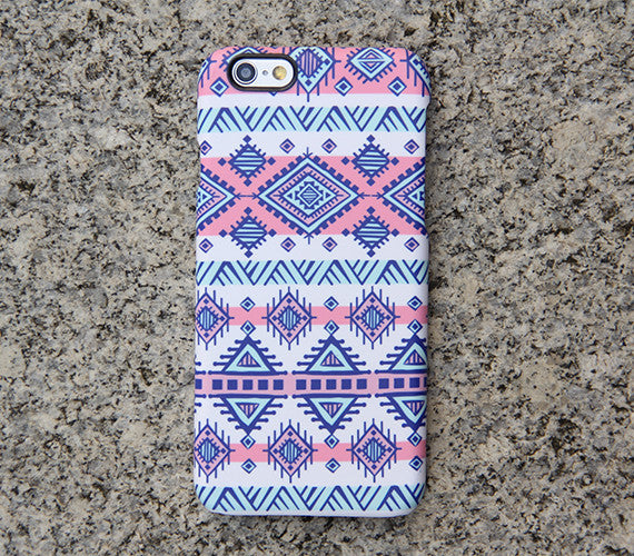 Navajo Ethnic iPhone XR Case | iPhone XS Max plus Case | iPhone 5 Case | Galaxy Case 3D 025 - Retina Designs