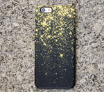 Gold Glitter Sparks iPhone XR Case | iPhone XS Max plus Case | iPhone 5 Case | Galaxy Case 3D 029 - Apple iPhone Xs/iPhone Xr case by Retina Designs