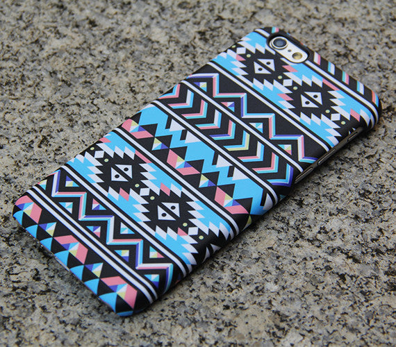 Aztec Chevron Geometric iPhone 6s Plus SE Case iPhone 5s Case Galaxy S7 Edge Plus Case 032