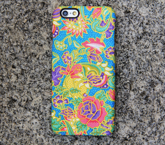 Floral Persian iPhone 6s case iPhone 6 plus Case Flowers iPhone 5S 5 iPhone 5C iPhone 4S/4 Case Blue Galaxy S6 edge S6 S5 S4 Note 3 Case 048