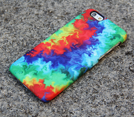Abstract TieDye iPhone XR Case | iPhone XS Max plus Case | iPhone 5 Case | iPhone 7 Plus Case 3D 05-1 - Apple iPhone Xs/iPhone Xr case by Retina Designs