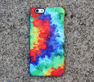 TieDye Watercolor Galaxy S8 Plus Case Galaxy S7 Case Samsung Galaxy Note 5  Phone Case s6-05 - Apple iPhone Xs/iPhone Xr case by Retina Designs