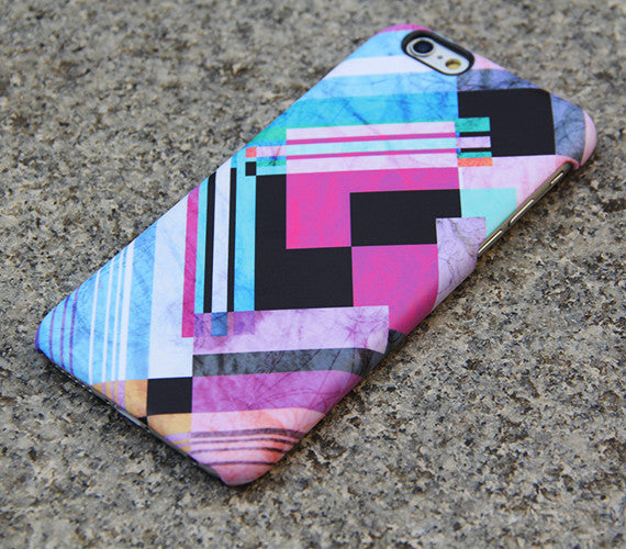 Geometric Chevron Colors iPhone 6s Case Pink iPhone 6 plus Case iPhone 5S 5 iPhone 5C iPhone 4S/4 Case Samsung Galaxy S5/S4/Note 3 Case 07