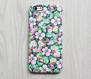 Chic Floral iPhone XR Case | iPhone XS Max plus Case | iPhone 5 Case | Galaxy Case 3D 073 - Apple iPhone Xs/iPhone Xr case by Retina Designs
