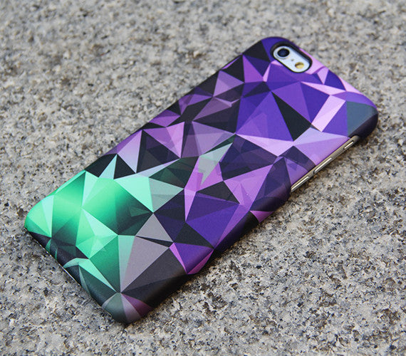 Optical Fluorescent Green iPhone XS Max iPhone XR case iPhone XS Max plus Case Violet Diamond iPhone 8 5C  Case Galaxy  S3 Note 3 Case 08 - Apple iPhone Xs/iPhone Xr case by Retina Designs