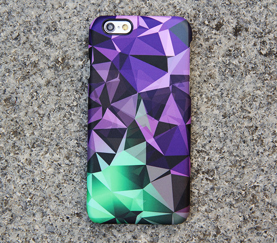 Optical Fluorescent Green iPhone XS Max iPhone XR case iPhone XS Max plus Case Violet Diamond iPhone 8 5C  Case Galaxy  S3 Note 3 Case 08 -
