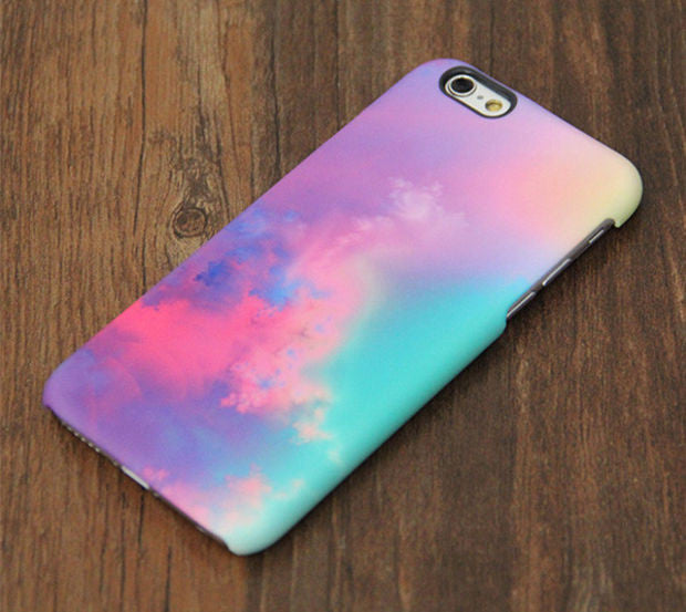 Pastel Turquoise Sky iPhone XR Case | iPhone XS Max plus Case | iPhone 5 Case | Galaxy Case 3D 082 - Apple iPhone Xs/iPhone Xr case by Retina Designs