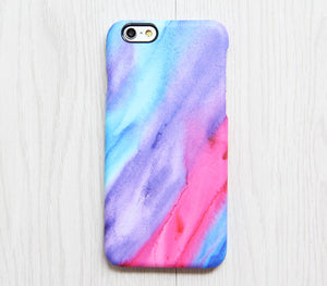 watercolour iphone 8 case